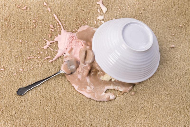 Spilled Ice Cream